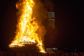 [Photos] Homecoming Bonfire 2013